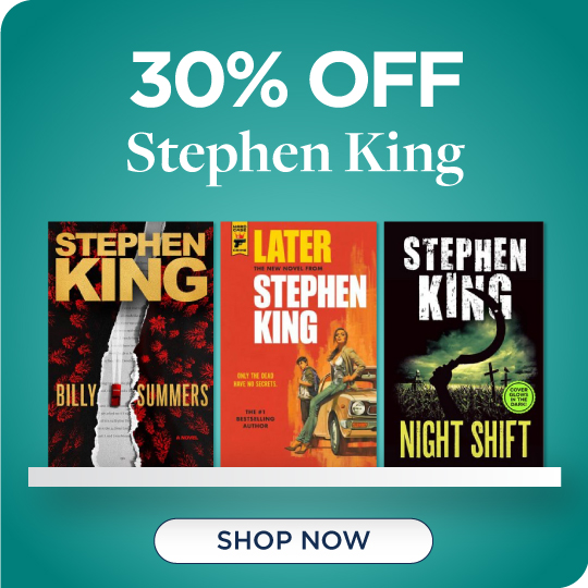 Shop All Stephen King, Now 30% Off!