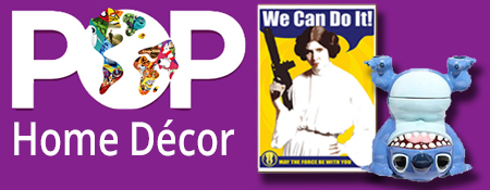 Shop POP Culture Home Decor