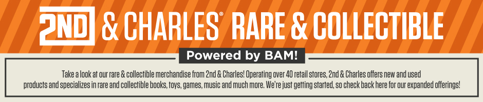 2nd & Charles Rare & Collectible Merchandise Powered by BAM!