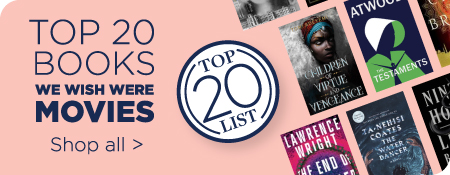 Top 20 Books That Should Already Be Movies - Shop All