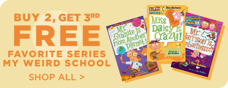 Shop All My Weird School, Now Buy 2, Get 3rd Free!
