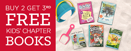 Buy 2, Get 3rd Free on Thousands of Kids' Books!  Shop Now!