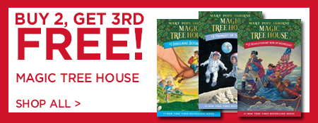 Shop Buy 2, Get 3rd Free on Magic Tree House Series