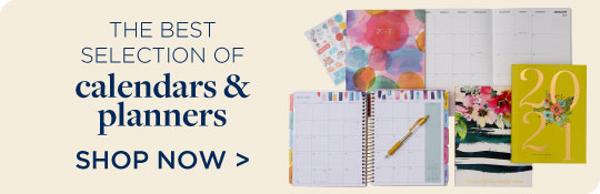 Shop Calendars & Planners, Now 20% Off!