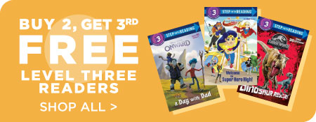 Shop All Level Three Readers, Now Buy 2, Get 3rd Free!