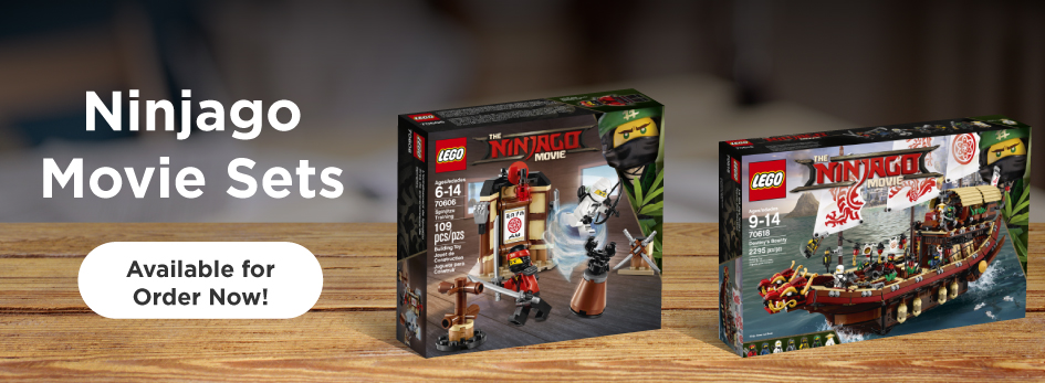 Shop More from the LEGO Ninjago Movie!
