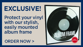 Check Out Our Exclusive Vinyl Frame!
