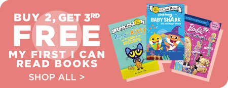 Shop All First Readers, Now Buy 2, Get 3rd Free!