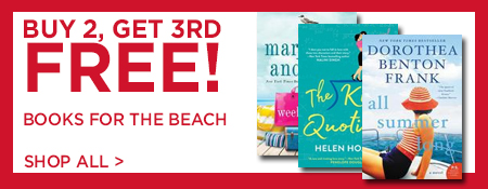Shop Buy 2, Get 3rd Free on Books for the Beach