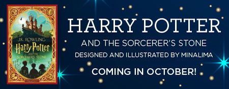 Pre-Order the MinaLima Designed and Illustrated Edition of Harry Potter and the Sorcerer's Stone Today!