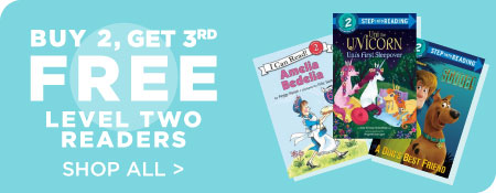 Shop All Level Two Readers, Now Buy 2, Get 3rd Free!