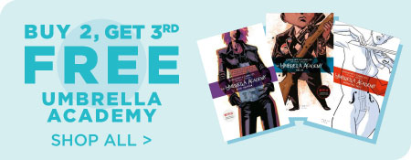 Shop All Buy 2 Get 3rd free Umbrella Academy