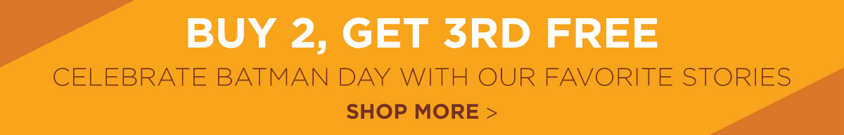 Buy 2, Get 3rd Free! Shop More Sales