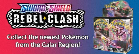 Buy Pokemon Sword and Shield Rebel Clash Pack now!