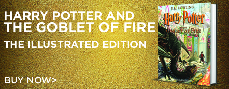 Buy Harry Potter and The Goblet of Fire The Illustrated Edition Now!