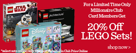 Shop More LEGO!