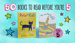 "Shop the ""50 Great Stories to Read Before You're Five"" Collection"