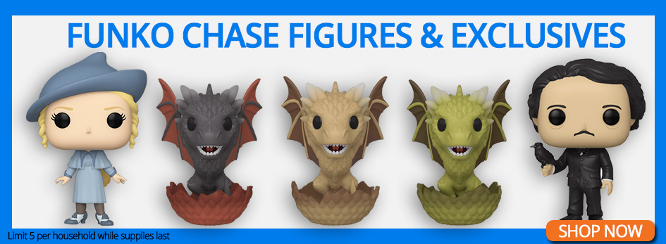 Shop Exclusives and Chase Figures!