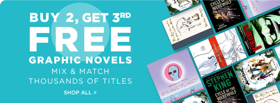 Shop All Buy 2 Get 3rd Free Graphic Novels and Manga