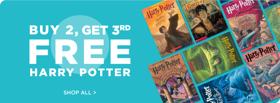 Shop All HarryPotter Buy 2, Get 3rd Free!
