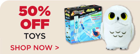 Toys & Games 50% off!