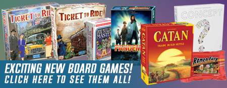 New Board Games - Shop Now
