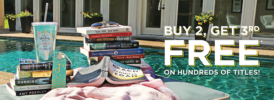 Shop Summer Savings: Buy 2, Get the 3rd Free!