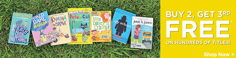 Shop More Summer Savings in Kids' Fiction!