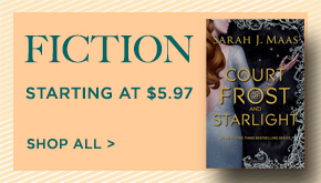 Shop More Fiction Starting at $5.97!