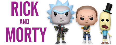 Shop More Rick and Morty!