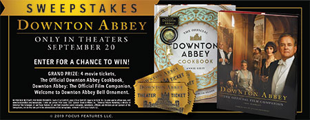 Downton Abbey Sweepstakes - Enter Now to Win!