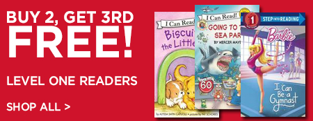Shop Buy 2, Get 3rd Free on Level One Readers
