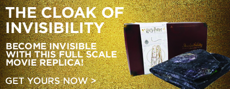 Pre-Order Harry Potter's Invisibility Cloak!