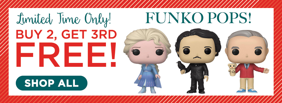 Buy 2 Get 3rd Funko - Shop All Funko