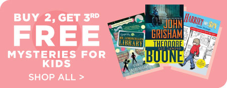 Shop All Kids Mysteries, Now Buy 2, Get 3rd Free!
