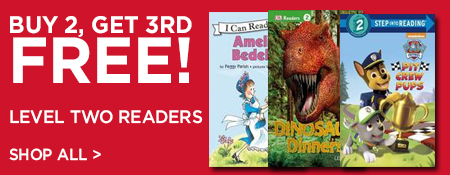 Shop Buy 2, Get 3rd Free on Level Two Readers