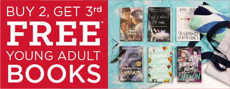 Buy 2, Get 3rd Free on Select YA Books!  Shop Now!