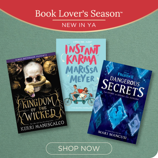 New in YA! Shop Now