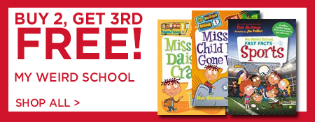 Shop Buy 2, Get 3rd Free on My Weird School Series