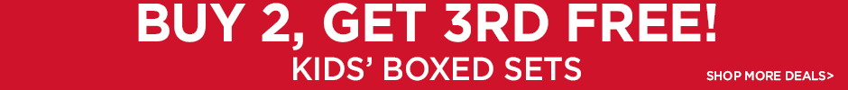 Buy 2, Get 3rd Free on Boxed Sets for Kids  - Shop More Deals!