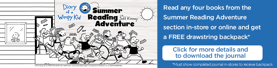 Summer Reading Adventure - Download the journal here!