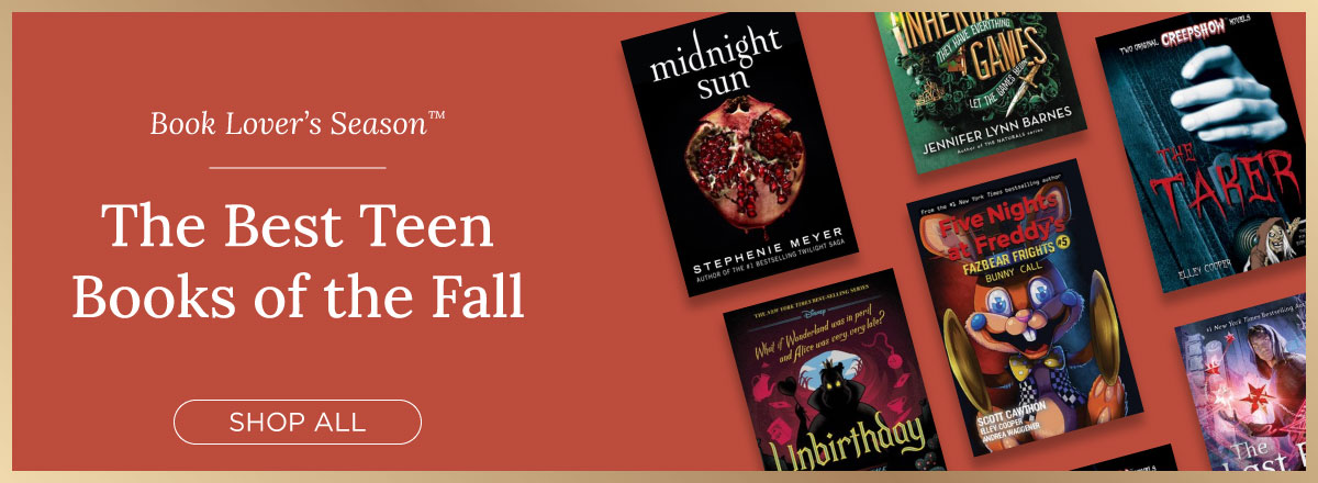 Shop the Best YA Books of the Fall!