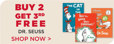 Buy 2, Get 3rd Free - Dr. Seuss Favorites.  Shop More Sales!