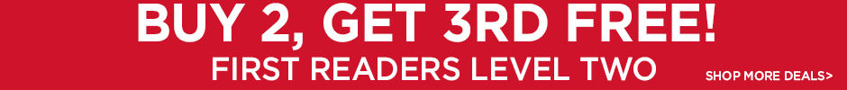 Buy 2, Get 3rd Free on Level Two Readers - Shop More Deals!