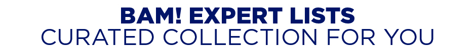 BAM! Expert Lists - Curated Collection For You