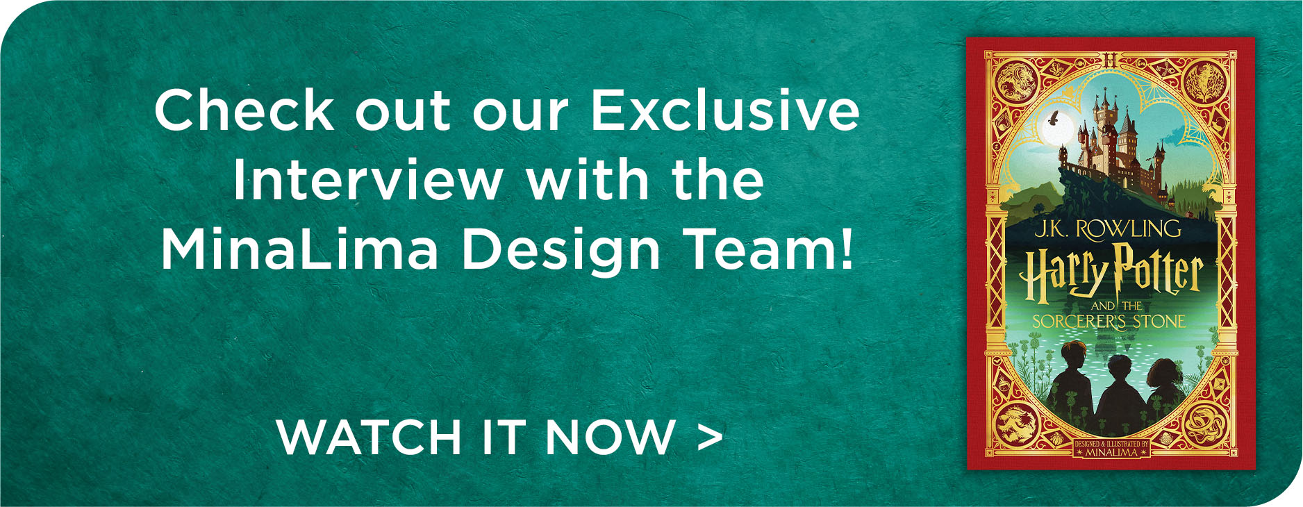 Exclusive Inteview with the MinaLima Design Team!