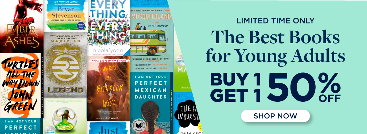 Buy 1, Get 1 50% Off the Best Books for Young Adults! Shop Now!