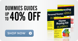 Dummies Guides: Up to 40% Off