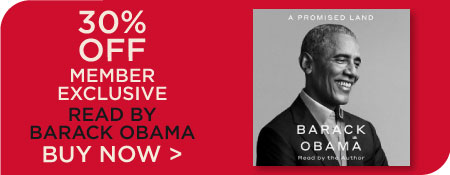 A Promised Land Read by Barack Obama!  Millionaire's Club Members Get 30% Off!