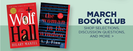 Shop Discussion Questions & More for Our March Book Club Picks